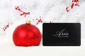 aria bistro lounge gift card