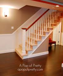 Basement Stairs Decorating Decorating Basement Stair Ideas Inspiring Regarding Stairway Ideas