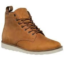 vans sahara boot light brown leather men s boot size 7 5