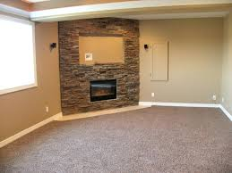 basement gas fireplace sumptuous corner gas fireplace vogue traditional basement inspiration with bar basement custom electric
