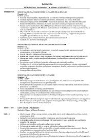resume for human resources manager regional human resources manager resume samples velvet jobs