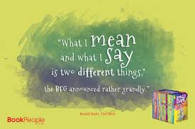 Roald Dahl Quotes Magnificent The BFG