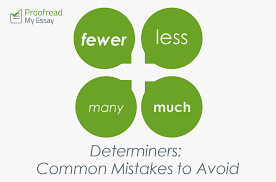 determiners common mistakes to avoid proof my essay