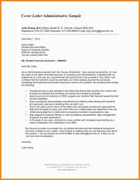 admin support cover letter sample cover letter administrative support euro bazar