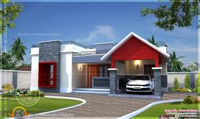 Single Floor Home Plan In 1400 Square Feet Indian House Plans Single Story Indian House Designs