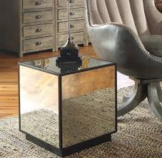 mirror side table. matty cube mirrored side table mirror e