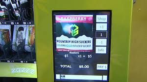 Marijuana Vending Machines Cool SelfService Pot Marijuana Vending Machines Could Grow CBS Denver