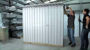 sloping roof garden master sheds