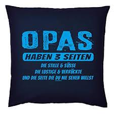 Tini Shirts Lustiges Opa Sprüche Kissen Motiv Spruch Großvater