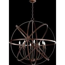 quorum celeste 8 light candle chandelier