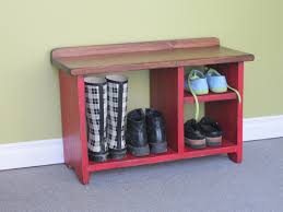Shoe Rug Exciting Diy Shoe Bench Design Which Is Created Using Classic