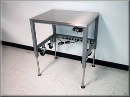 ... Lift Table w/ Hand Crank, Casters & Stainless Steel ...
