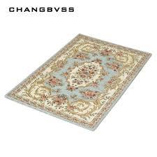 retro printing floor mats carpet anti slip bathroom rug set bathroom rugs