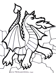 Coloring Pages Dragons Coloring Pages