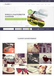 website advertisement template classified html5 templates themes free premium free