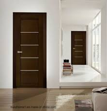 Porch Prehung 45mm Thickness Solid Wood Bedroom Internal Doors