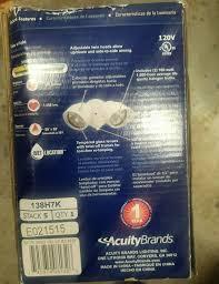 Acuity Brands Lighting Inc Crawfordsville In 47933 2 Lithonia Lighting 200 Watt Halogen Security Floodlights