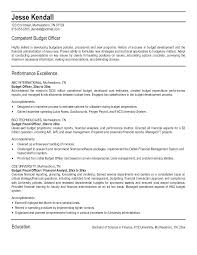 Immigration Officer Sample Resume Fascinating Resume Examples Budget Management Combined With Sample Resume
