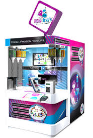 Yogurt Vending Machine Awesome Frobot Fun To Say Fun To Use Champion Vending