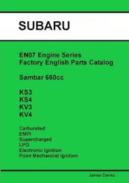 service manuals buckeye mini trucks the mini truck accessory store subaru sambar en07 engine series english parts catalog