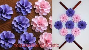 Paper Flower Craft Ideas Paper Wall Hanging Craft Ideas Paper Flower Paper Craft Wall Decoration Ideas