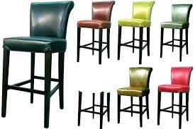 backless leather bar stools domimagecom red leather bar stools with backs bar stool