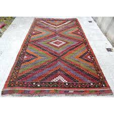 vintage kilim rug vintage handwoven embroidered colorful rug oriental 6 x vintage kilim rugs melbourne
