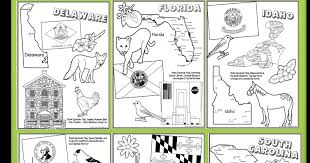 Small Picture FREE State Coloring Pages