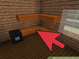 how to make a kitchen in minecraft. Image Titled Make A Kitchen In Minecraft Step 7 How To