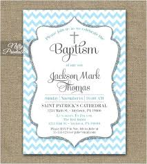 Baby Baptism Template Christening Invitation For Baby Girl Wording