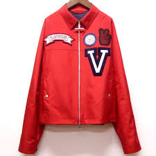louis vuitton jacket. -louis vuitton louis-vuitton windbreaker and red / 50 jacket patch louis vuitton o