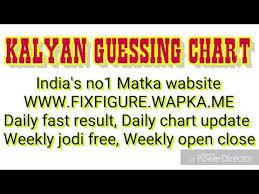 Jodi Chart Videos Matching Kalyan Guessing Chart Kalyan Matka Chart