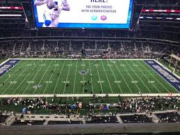Dallas Cowboys Seating Chart With Rows Photos At At T Stadium