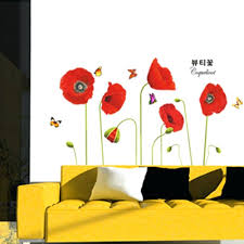 wall stickers and decals bright red corn poppy beautiful wall wallpaper stickers art bright red corn on poppy wall art stickers with wall stickers and decals bright red corn poppy beautiful wall