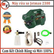 Máy rửa xe Jetman 2300 áp lực xịt lớn ( hàng chính hãng bảo hành 6 tháng) máy  rửa xe máy,ô tô gia đình giá rẻ giảm chỉ còn 3,150,000 đ