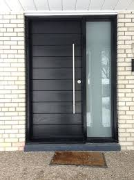 house front door open. Aurora Doors Front Entrance Door Modern Entry  Fiberglass Frosted Side Windows And Reviews Open 2018 House Front Door Open