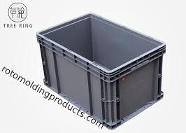 Extra heavy duty all welded 12 ga. Euro Stackable Heavy Duty Plastic Storage Containers 600 400 340mm 50 Liter