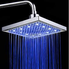 shower led lighting. LED Square Shower Head 8\ Led Lighting E