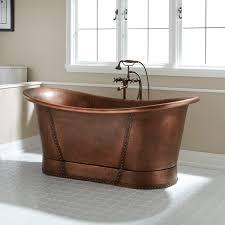 copper bathroom. Kendi Bateau Copper Tub Bathroom