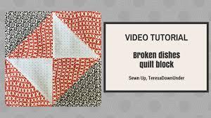 Video tutorial: broken dishes quilt block - YouTube & Video tutorial: broken dishes quilt block Adamdwight.com