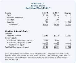 the cash flow statement for the month of april reports that there was no change in the cash account from march 31 through april 30