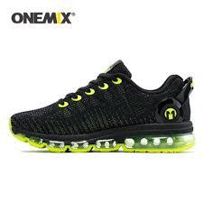 ONEMIX Men Running Shoes Discolour Mesh Colorful Reflective ...