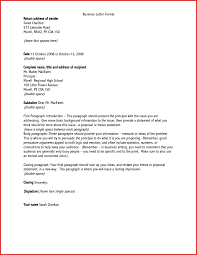 Proper Business Letter Format Adress A Letter Ohye Mcpgroup Co