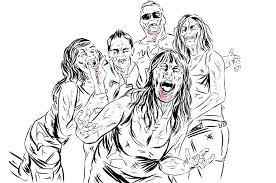 coloring pages scary scary zombie coloring pages zombie coloring pages football zombie coloring pages scary
