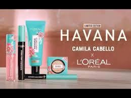 l oreal paris x camila cabello the havana collection camilaxloreal makeup addicted