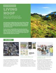 San Francisco Stormwater Design Guidelines San Francisco Living Roof Manual Executive Summary By Sf