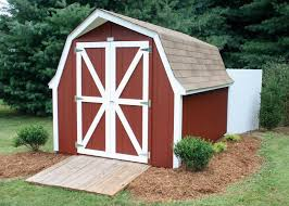shed roof styles 8 10 painted barn gambrel roof