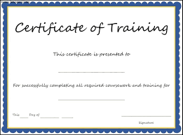 29 Images Of Trainee Certificate Template Leseriail Com