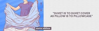 fitting duvet cover to duvet