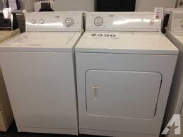 estate washer and dryer.  And Whirlpool Estate Washer U0026 Dryer SET  6 Month Warranty Intended And L